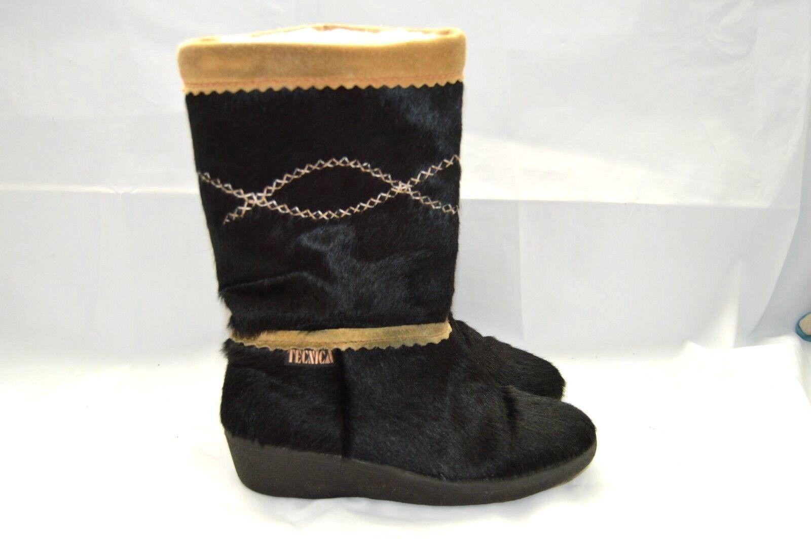 TECNICA WARM HAIR Stiefel BLACK Damenschuhe SIZE 37 LINING LINING LINING 907283