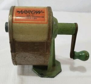 Arrow-Brand-Vintage-Wall-Pencil-Sharpener