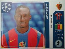 Panini 189 Jacques Zoua FC Basel UEFA CL 2011/12