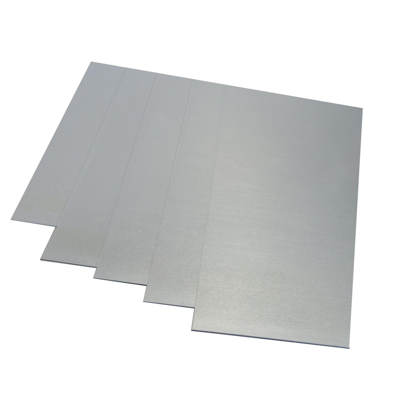 Metal Mate ALUMINIUM FLAT SHEET Aust Brand- 0.5x300, 0.5x600 Or 0.5x900 x900mm