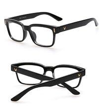 64311ce5b8 Hot Fashion Mens Womens Retro Clear Lens Glasses Frame Eyewear Unisex -  Black