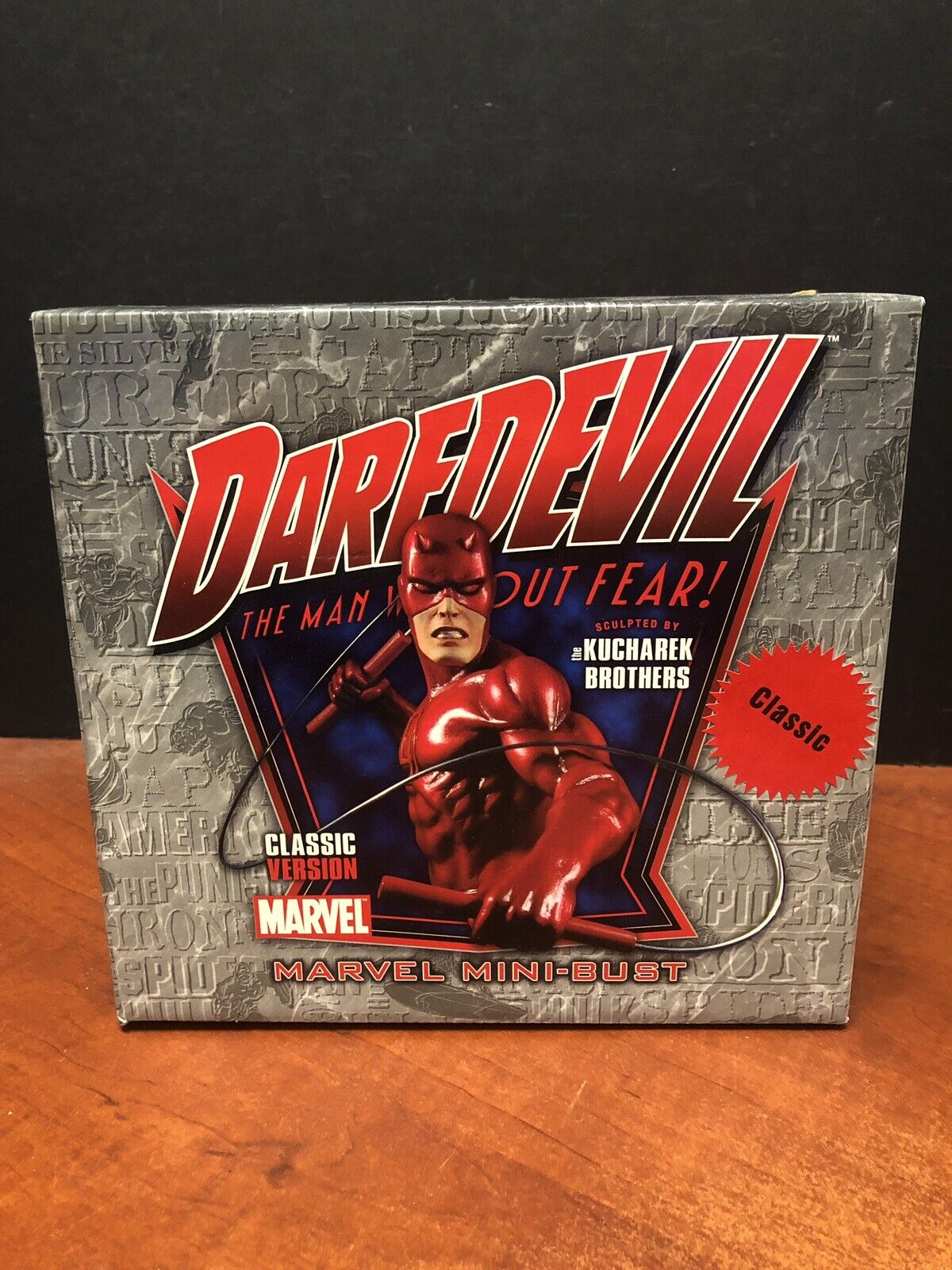 Marvel Mini Bust Daredevil Classic Red Version (See Pictures) TAMP0126