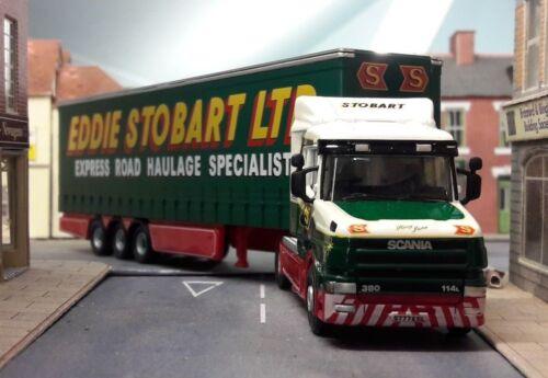 Stobart Scania T Series Lorry Wagon /& Trailer Bachmann Dapol Hornby 1:76 OO//00