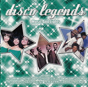 Compilation-CD-Disco-Legends-Music-And-Lights-M-M