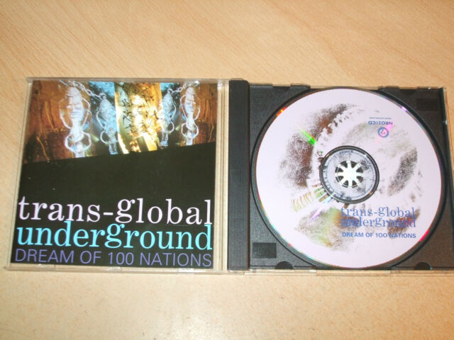 Trans-Global Underground - Dream of 100 Nations (CD) 12 Tracks - Nr Mint