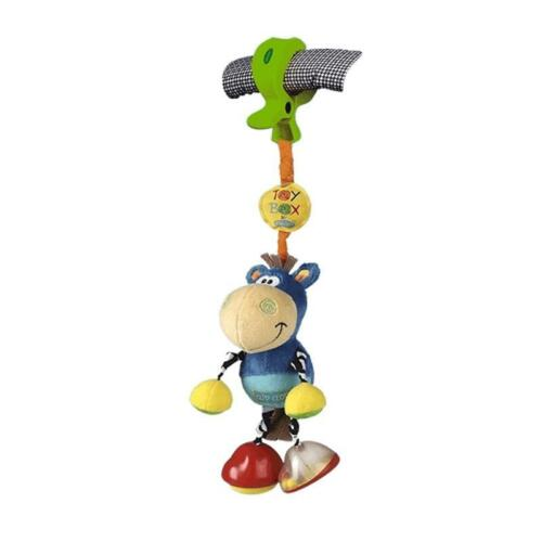 Playgro Toy Box Pferd Klipp Klapp mit Rassel NEU