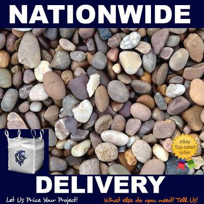 20mm Pea Gravel Bulk Bag 825kg Minimum Craned Nationwide Delivery Included Ebay