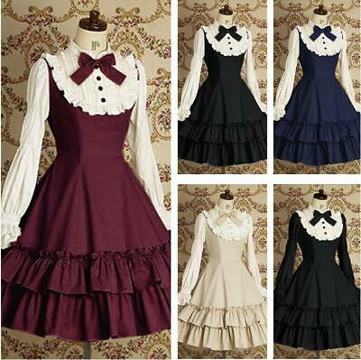 KoKoHouse Womens Classic Lolita Dress Vintage Ruffle Tiered Cap Sleeve Wedding Party Ball Gowns Princess Dress