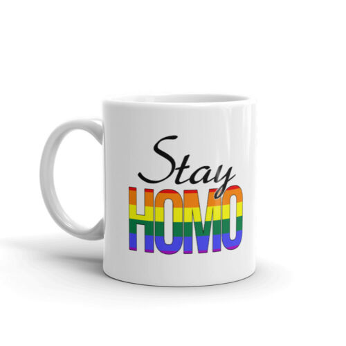 Details about  /Stay Homo Quarantine Self Awareness Novelty Cup Gift Coffee Tea Ceramic Mug
