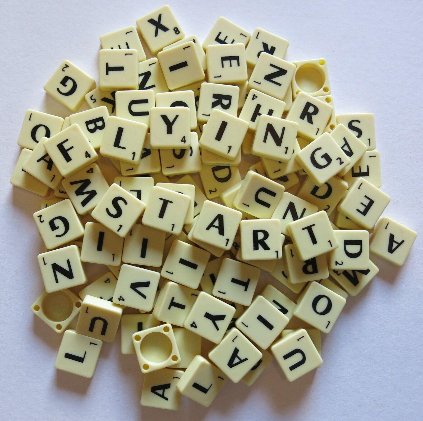 SCEGLI E MIX SCRABBLE TILES-Scegli la tua propria lettere e numeri 1 - 1000 TASSELLI