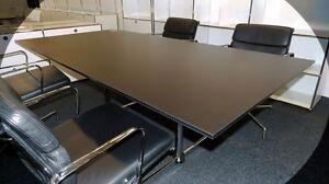 usm haller kitos schreibtisch arbeitsplatz konferenztisch tisch schwarz 200x100 ebay. Black Bedroom Furniture Sets. Home Design Ideas