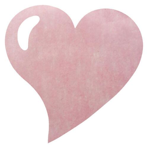 38 cm rose Tischdeckchen Platzmatte Tischmatte Platzdeckchen Herz 50 Stk ca