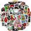 Waterproof Vinyl Aesthetic Stickers for Laptop Water Bottle Room Decor 50Pcs VS