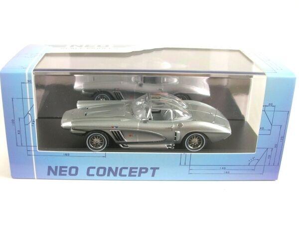 risparmia fino al 70% Chevrolet Xp-700 Corvette Corvette Corvette Coupè (argentooo) 1959  qualità autentica