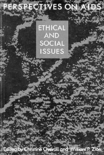 Perspectives on AIDS : Ethical and Social Issues Paperback Christine Overall