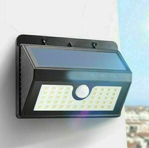 180//45 COB LED Solar Wall Light Outdoor Garden Security Lamp Motion Sensor CHL