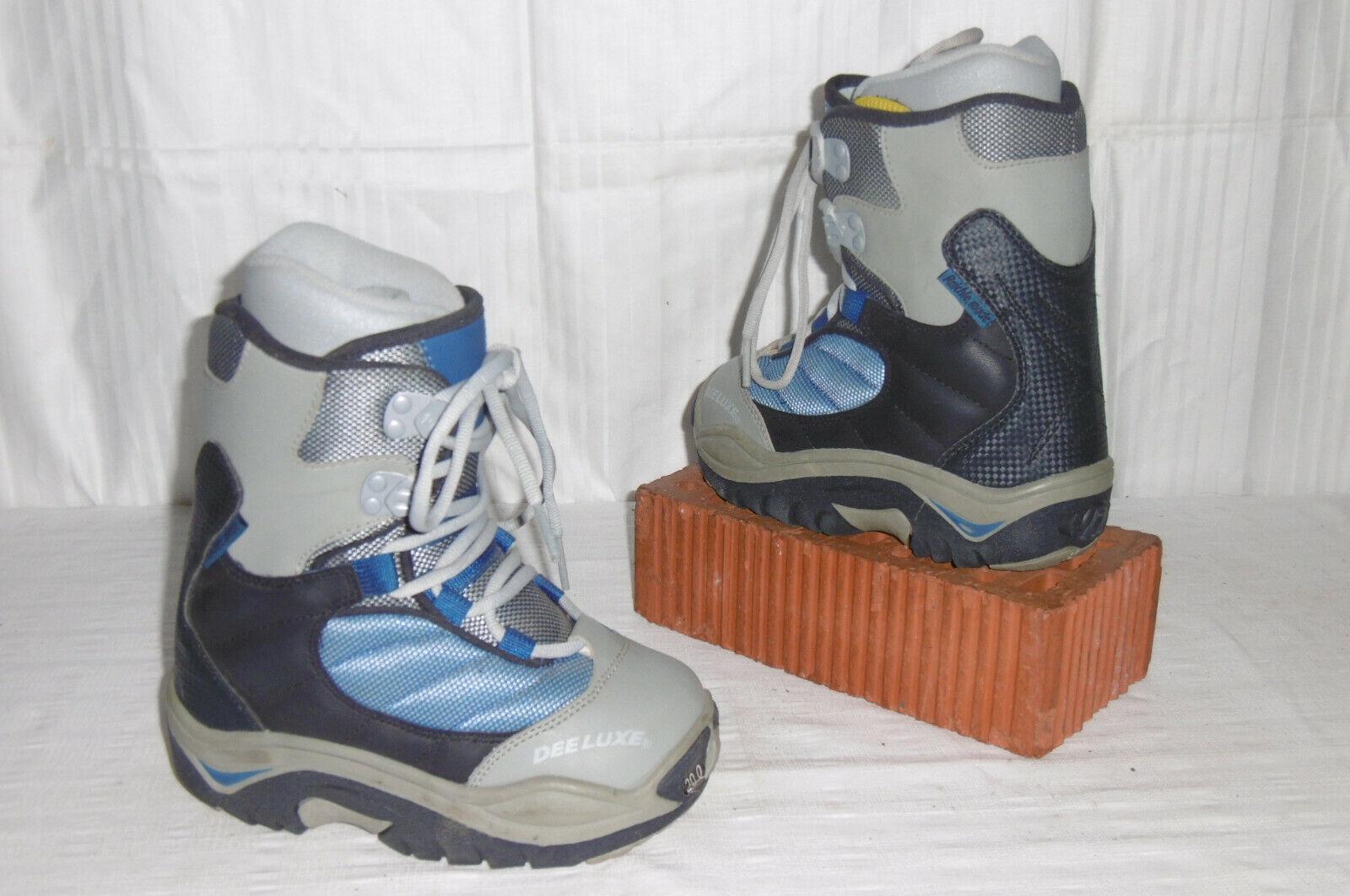 DEELUXE   DAEMON     TOP JUNIOR SNOWBOARD Stiefel GR.  30 - NEU    Ausgezeichnetes Handwerk  f5b71e
