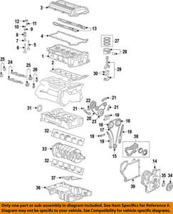 s l300 gm oem engine timing chain 24461834 ebay