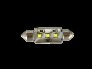 Lampadina Luci Targa : Pz lampadina siluro mm led cree luci targa abitacolo