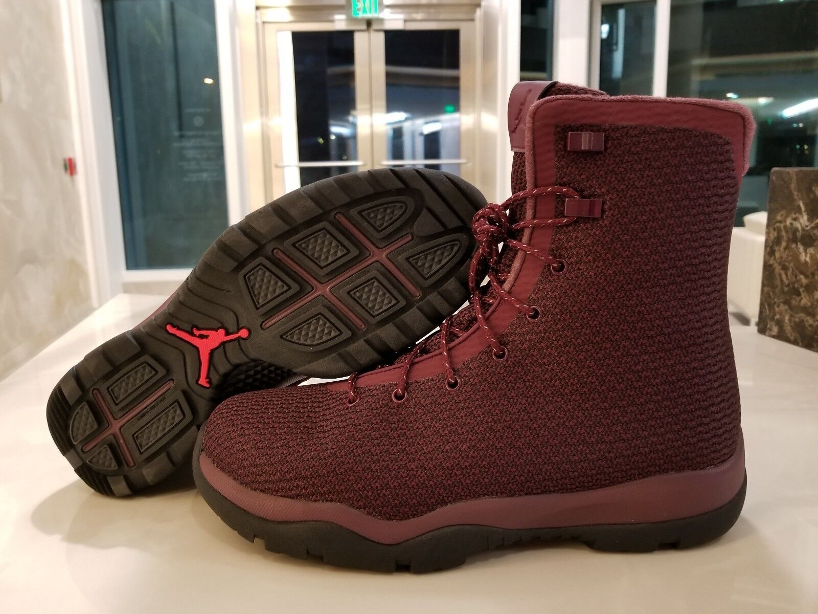 Nike Air Jordan Future Boot Night Maroon Burgundy Red Black SZ (854554-600)