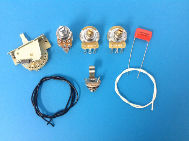 Strat Guitar Wiring Kit Series Parallel Mod for Stratocaster Louder on