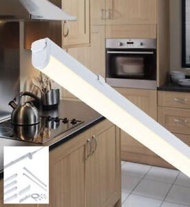 Led linkable kitchen under cabinet cupboard strip lights link warm image is loading led linkable kitchen under cabinet cupboard strip lights aloadofball Images