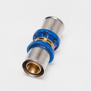 Pressfitting-Kupplung-Aluverbundrohr-Mehrschichtverbundrohr-DVGW-16-20-26-32-TH