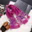 Brand-luxury-silk-scarf-2018-New-Designer-women-brand-colorful-shawl-scarf thumbnail 13