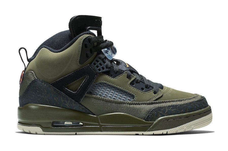 Nike da Uomo Jordan Spizike   verde Oliva Tela   Atletico scarpe da ginnastica Alla Moda | Commercio All'ingrosso  | Maschio/Ragazze Scarpa