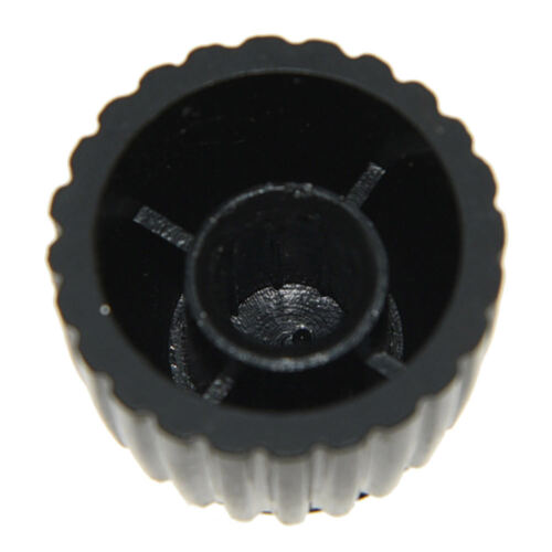 10pcs Gitarrenverstärker-Knöpfe-Schwarz-w-Cap-Push-on-passt-Marshall-Verstärker