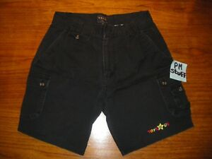 Toys-R-Us-Employee-Black-Short-From-the-early-2000-s-Black-Waist-size-32-Cotton
