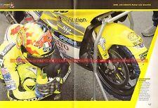 Valentino ROSSI  7 Saison 2000 Les débuts parmi les grands MOTO The Doctor 46