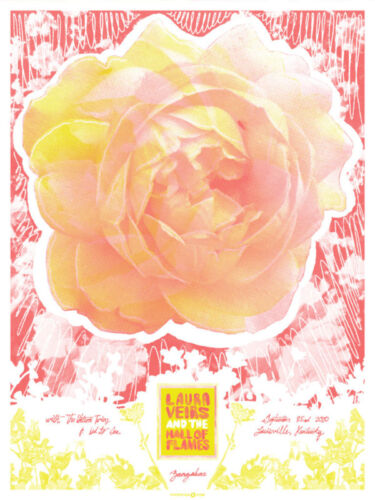 Laura Veirs September 2010 Limited Edition Gig Poster
