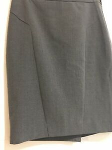 The-Limited-Collection-Straight-Pencil-Skirt-Career-Size-2-Excellent-Gray