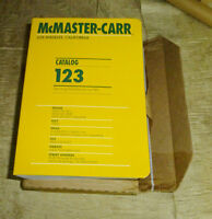 Mcmaster Mc Master Carr Catalog 123 Latest Edition - Free Shipping