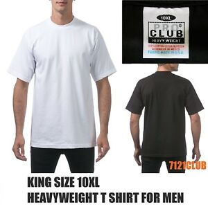 229698f4 Image is loading PRO-CLUB-HEAVYWEIGHT-T-SHIRTS-PROCLUB-MENS-CREWNECK-