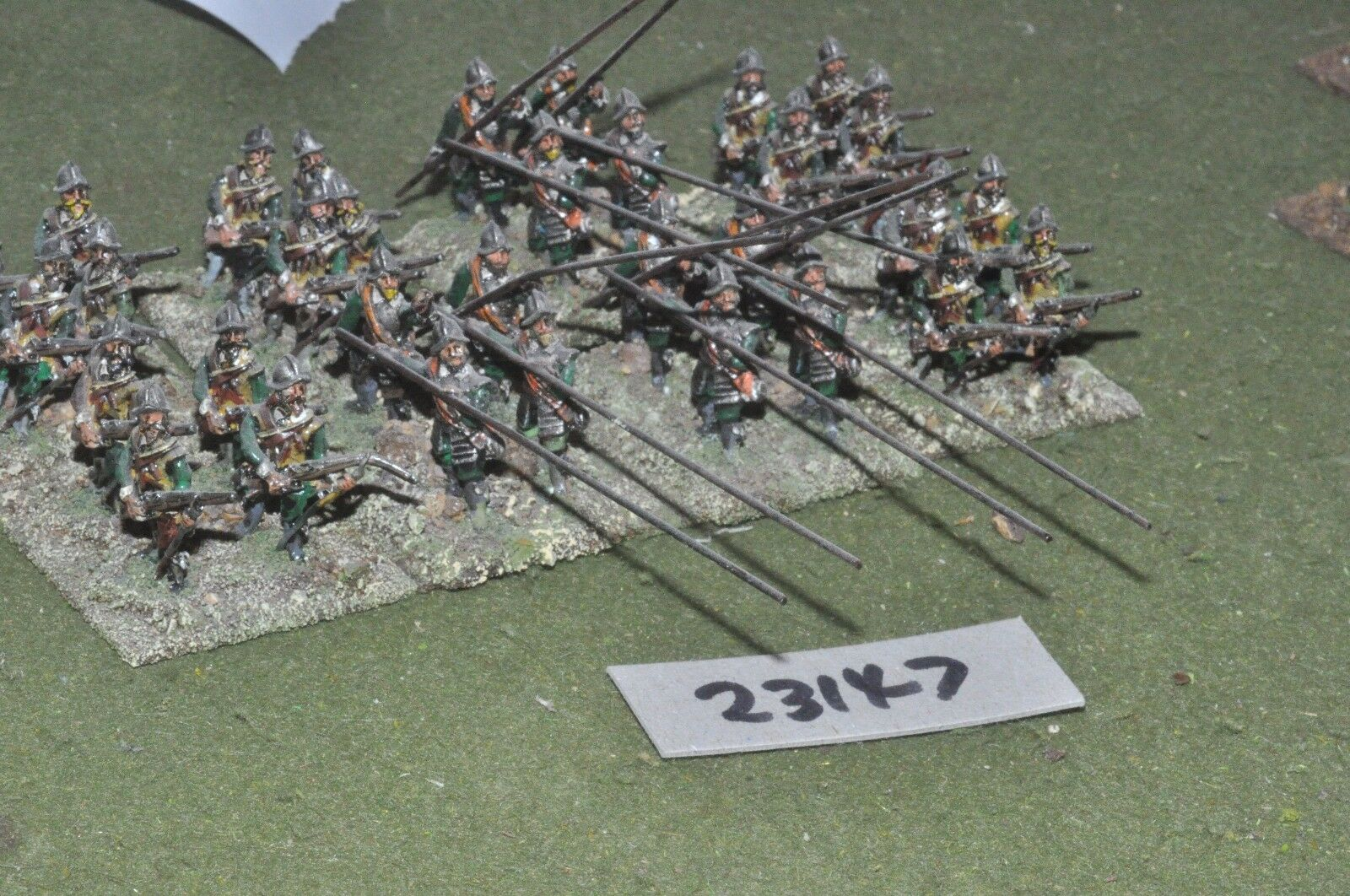 25mm ECW   parliament - pike & shot 32 figures - inf (23147)