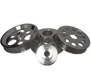 Ralco RZ Performance Underdrive Pulley Kit for Lexus GS300