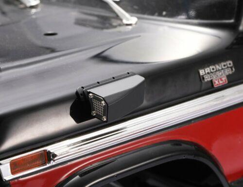 Neu Double Luftfilter Engine Grill Cover für 1//10 Traxxas TRX4 Ford Wrangler KM2