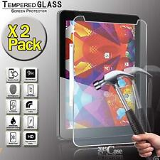 2 Pack Tempered Glass Screen Protector for Argos Alba 8 Inch Tablet