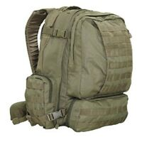 Condor 3 Day Assault Pack Tactical Molle Backpack Od Olive Green 125-001