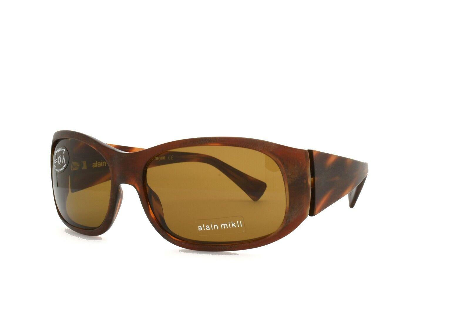Alain Mikli SUNGLASSES Brown 1060 0002 New Authentic 58mm