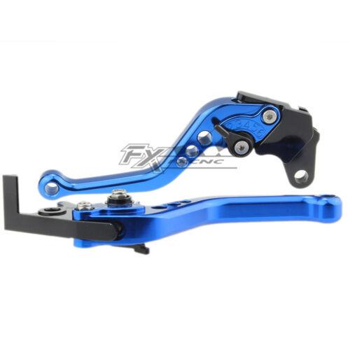 HONDA CBR250R 2011 2012 2013 FXCNC Adjust Brake Clutch lever Set Short//Long Pair