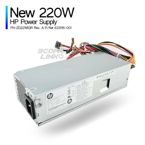 NEW Power Supply for S5 HP FH-ZD221MGR 633195-001 DPS-220AB-6 A PS-6221-9
