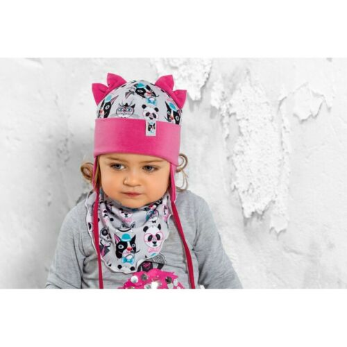 3 years Girls infant hat blue pink spring autumn sizes 3 months