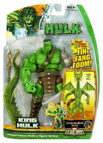 MARVEL LEGENDS Collection_KING HULK action figure_FIN FANG FOOM Series_New & MIP