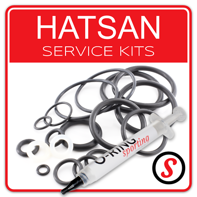 Hatsan AIR FUCILE PCP AT44 /& AT44-10 FULL O Ring Seal Kit