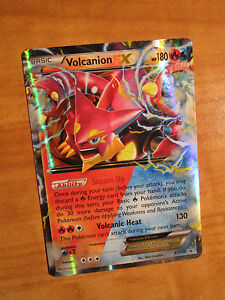 PL Pokemon VOLCANION EX Card STEAM SIEGE Set 26//114 XY X Y Ultra Rare PLAYED