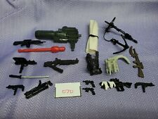 Gi Joe lot of 5 2003 COBRA NEO VIPER V6 Laser Pistol  accessories A116