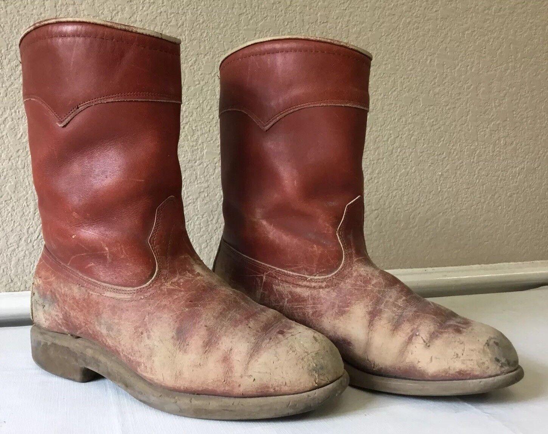 Vintage rot Wing Pecos Stiefel Irish Setter Sport Stiefel Größe 8.5 8 1 2 Men 15118 K6